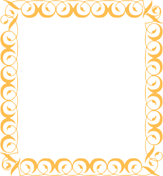 Fancy crown border clipart clip free library Gold Border Clip Art at Clker.com - vector clip art online, royalty ... clip free library