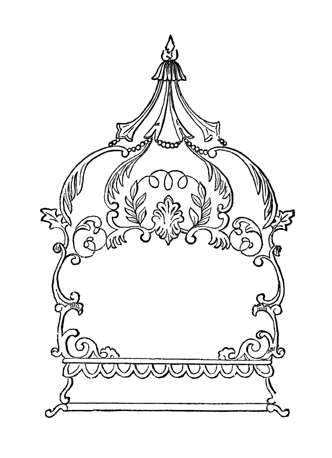 Fancy crown clipart svg freeuse Digital Stamp Design: September 2015 svg freeuse
