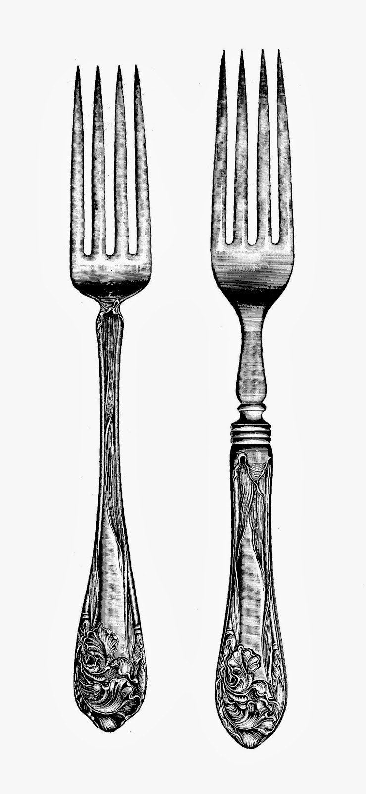 Fancy fork clipart banner royalty free download Download fancy fork transparent clipart Knife Fork Spoon banner royalty free download
