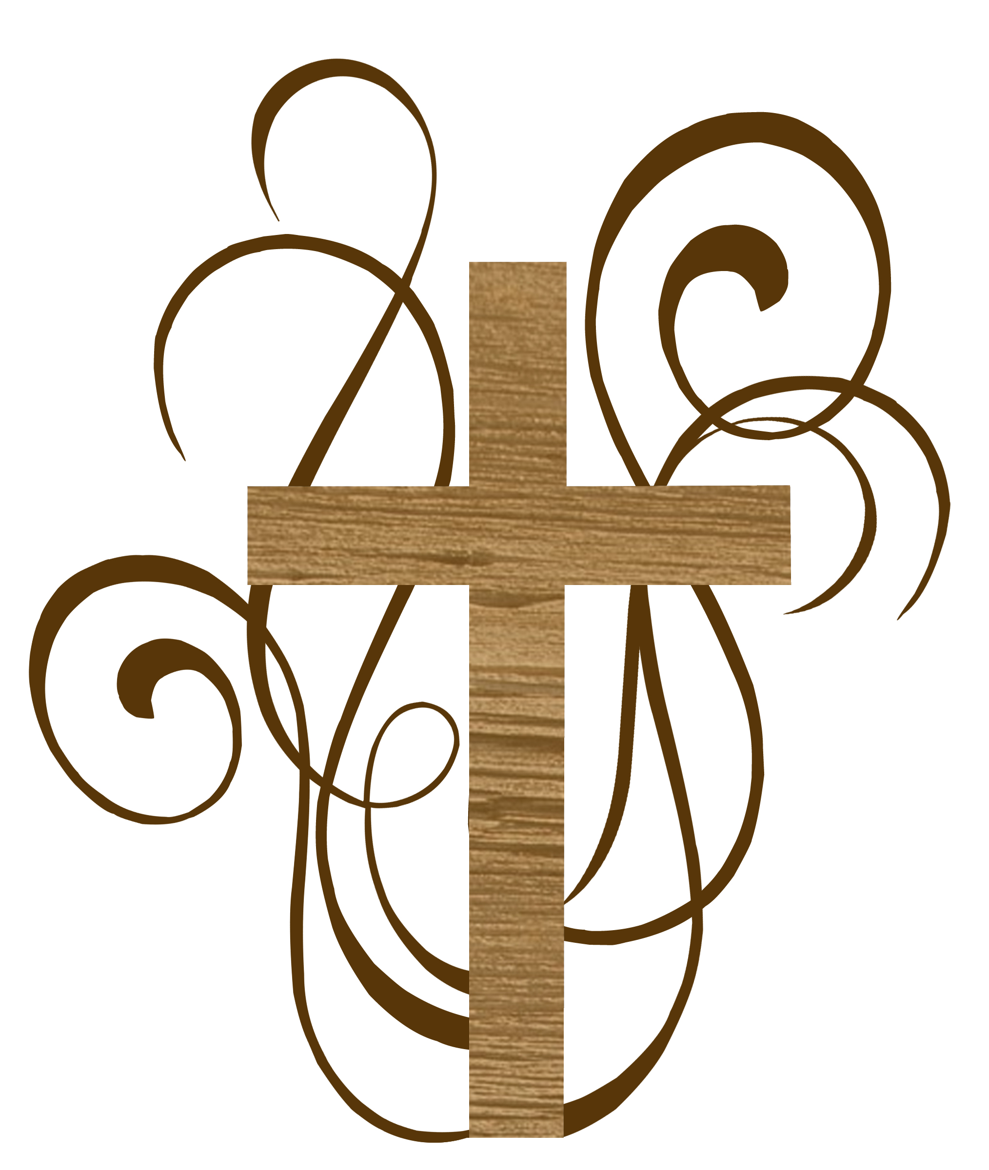 Fancy gold cross clipart - ClipartFest vector library download