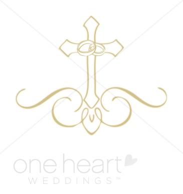 Fancy gold cross clipart - ClipartFest clip art library