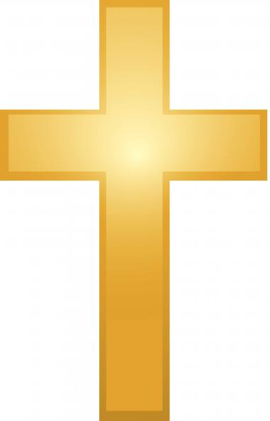 Gold Cross Clipart - Clipart Kid image free stock