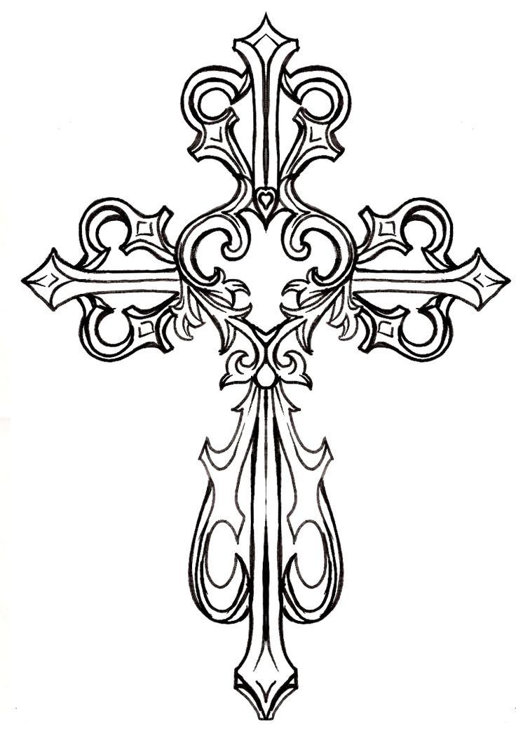 Fancy gold cross clipart jpg 17 Best ideas about Cross Clipart on Pinterest | Vinyl designs ... jpg