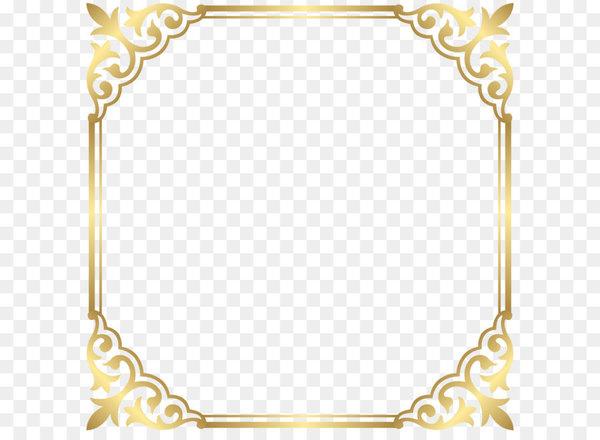 Fancy gold frame clipart jpg library Fancy That Boutique LOUENHIDE Clip art - Gold Border Frame PNG Clip ... jpg library