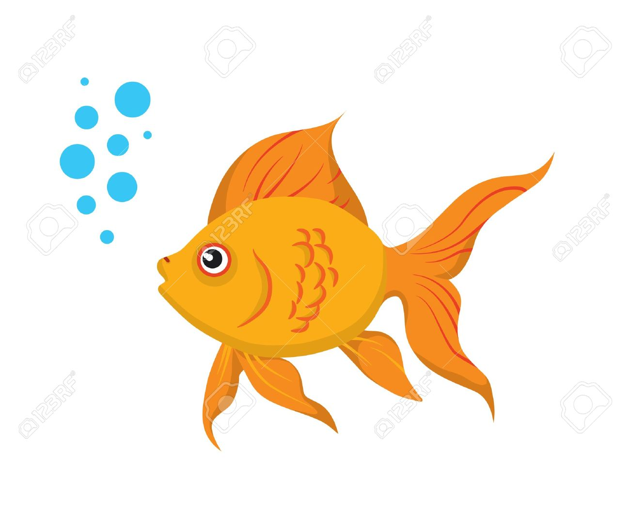 Fancy goldfish clipart image freeuse download Goldfish Clip Art & Goldfish Clip Art Clip Art Images - ClipartALL.com image freeuse download
