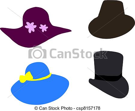 Fancy hats Vector Clip Art Royalty Free. 1,035 Fancy hats clipart ... jpg royalty free library