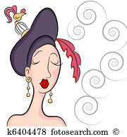 Fancy hat Clip Art Vector Graphics. 981 fancy hat EPS clipart ... image free library