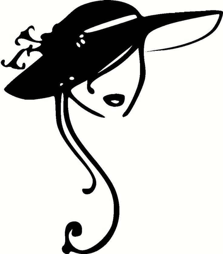 Clipart ladies hats - ClipartFest image freeuse library