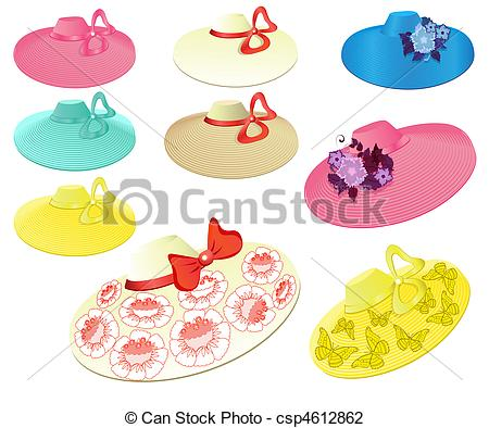 Fancy hats Vector Clip Art Royalty Free. 1,035 Fancy hats clipart ... jpg freeuse stock