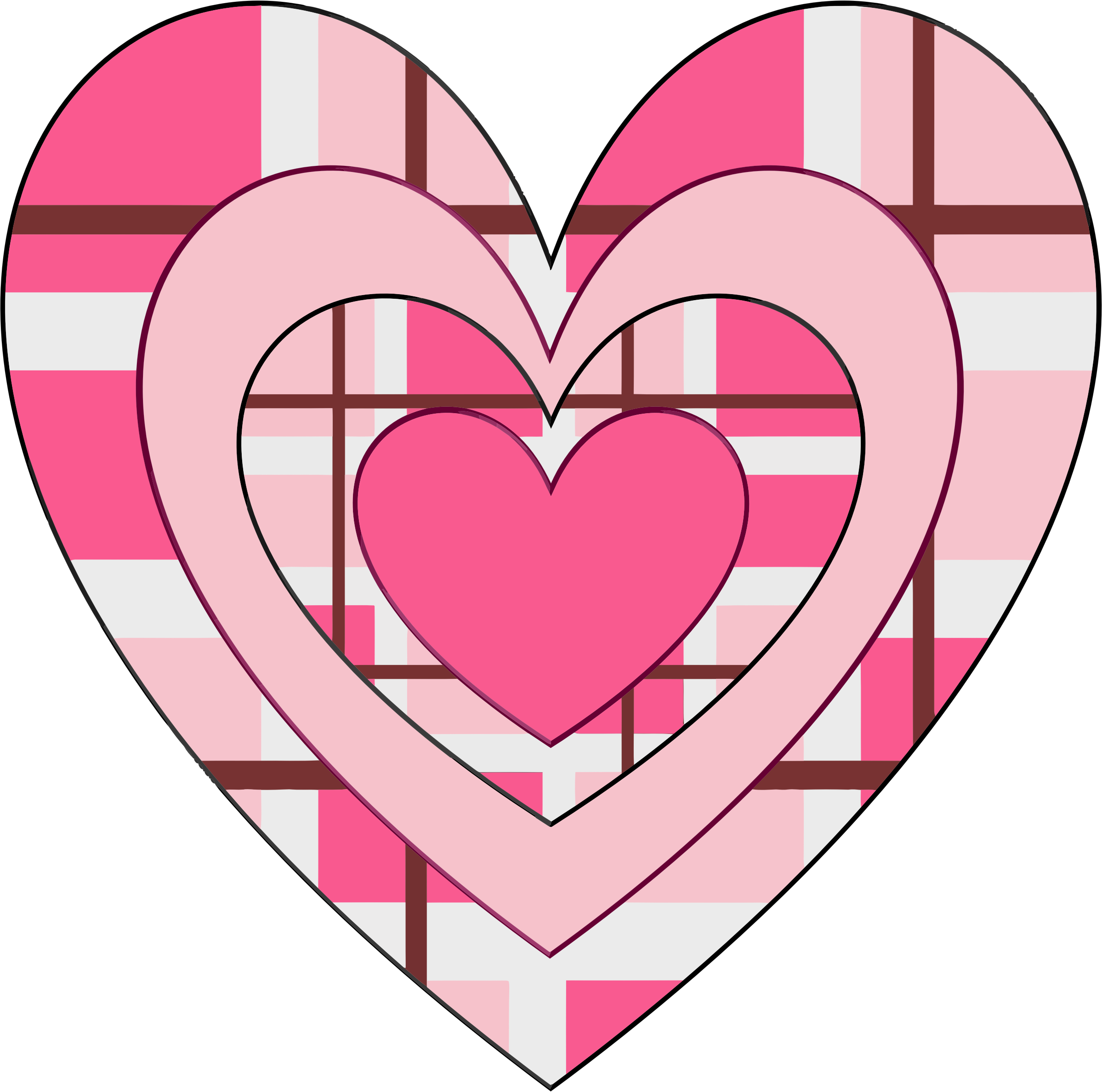 Fancy heart clipart clip library download Clipart - Fancy Valentine Heart clip library download