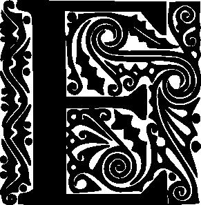 Fancy letter d clipart clip free Alphabet E Clip Art at Clker.com - vector clip art online, royalty ... clip free