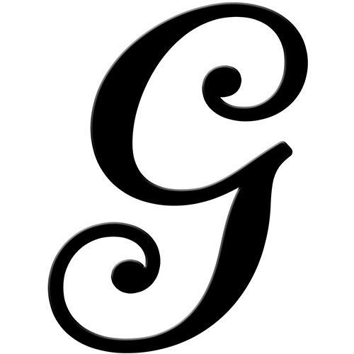 Fancy letter g clipart image free stock letter g black - Google Search | Crafts | Fancy letters, Lettering ... image free stock