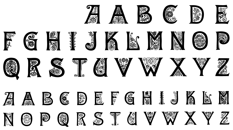 Fancy lettering clipart png free Fancy lettering clipart - ClipartFest png free