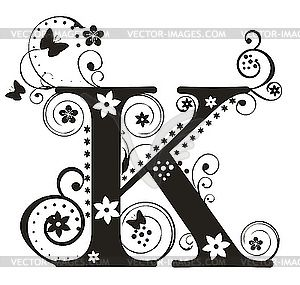 Fancy lettering clipart jpg transparent stock letter k picture - Google Search | Fancy Letters | Pinterest ... jpg transparent stock