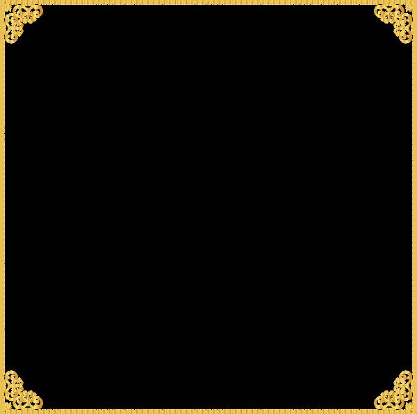 Us money frame clipart banner freeuse download Golden Border Frame Transparent Clip Art Image | Rame | Pinterest ... banner freeuse download