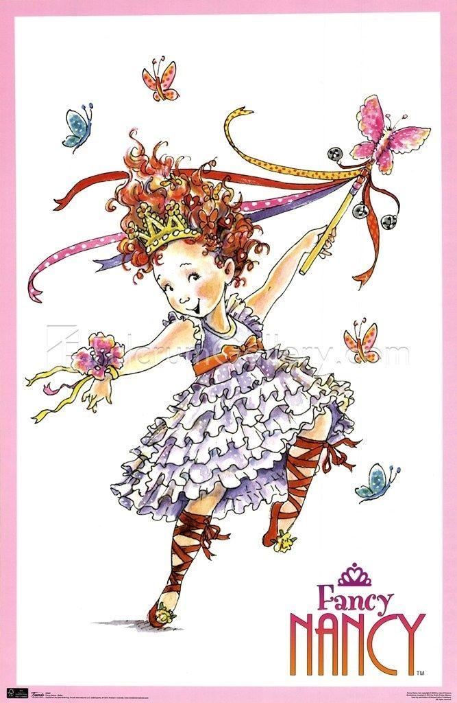 Fancy nancy clipart free png transparent download Fancy+Nancy+Clip+Art+Free | Fancy Nancy - Ballet Wall Poster by ... png transparent download