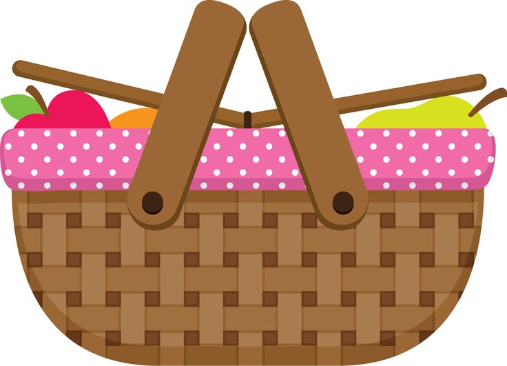 Collection of basket download. Free picnic clipart