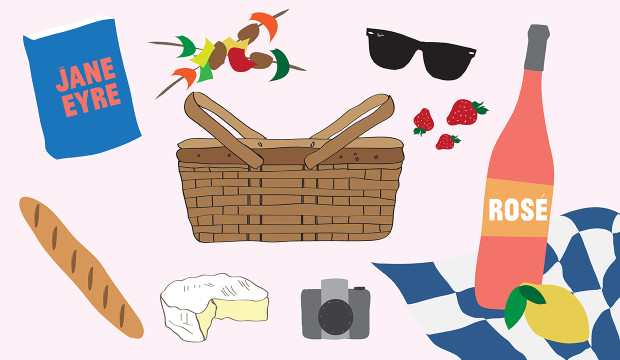 Fancy picnic basket clipart clip royalty free library Build The Ultimate Picnic Basket: It\'s Perfect For Your Next Date ... clip royalty free library