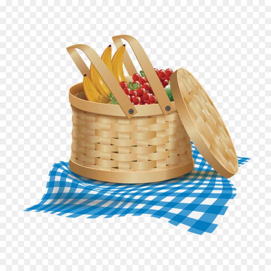Fancy picnic basket clipart image black and white download Camping Cartoon png download - 1104*1104 - Free Transparent Picnic ... image black and white download