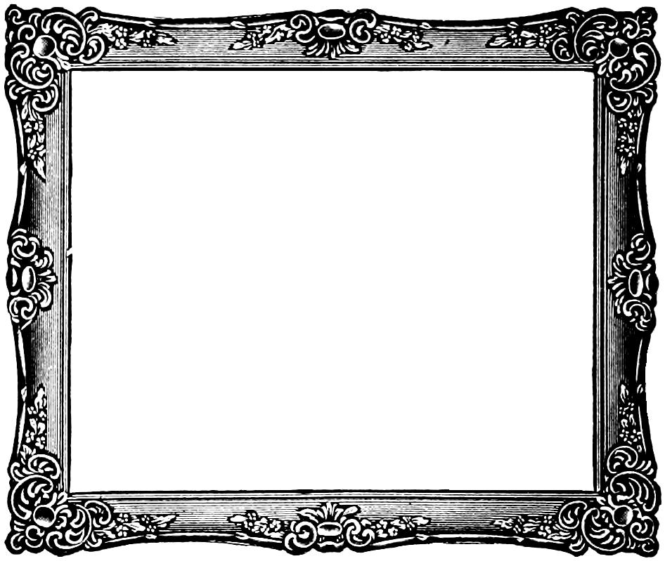 Fancy picture frame clipart clip art transparent library Fancy Border Frame Clipart Free Clipart Images | rti | Frame clipart ... clip art transparent library