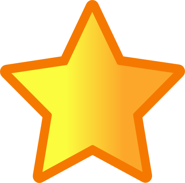Fat star clipart clipart royalty free download Star Clip Art at Clker.com - vector clip art online, royalty free ... clipart royalty free download