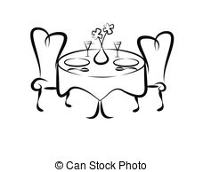 Fancy table clipart clipart freeuse download Fancy table setting clipart - ClipartFest clipart freeuse download