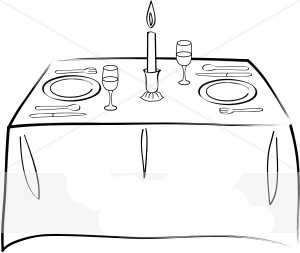 Fancy table clipart clip art library download Fancy table clipart - ClipartFest clip art library download