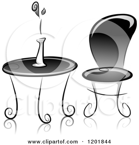 Fancy table clipart clip free library Clipart of a fancy table and chairs - ClipartFox clip free library