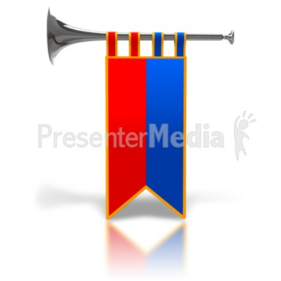 Fanfare clipart graphic download Single Trumpet Fanfare Silver - Signs and Symbols - Great Clipart ... graphic download