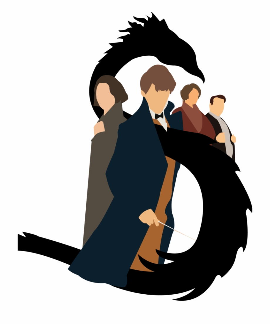 Fantastic beasts and where to find them clipart transparent jpg Mitchell Paddy/staff Illustrator - Fantastic Beasts And Where To ... jpg