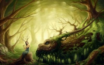 Fantasy creatures artwork clip art transparent download Fantasy creatures artwork - ClipartFest clip art transparent download