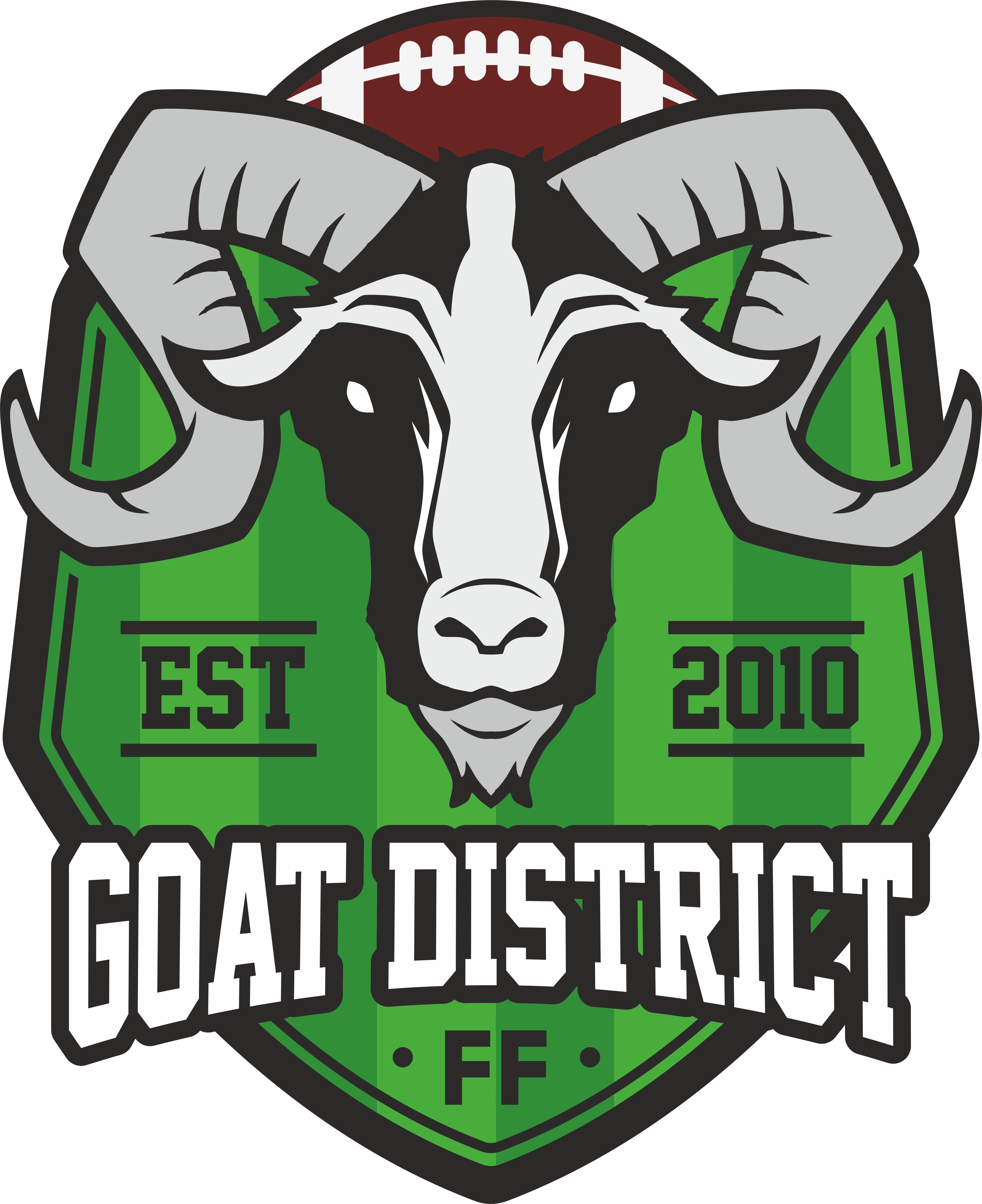 Fantasy football clipart svg transparent The GOAT District - Passionate about Fantasy Football. Focused on ... svg transparent
