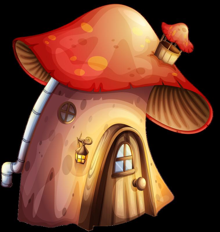 png pinterest mushroom. Fantasy house clipart