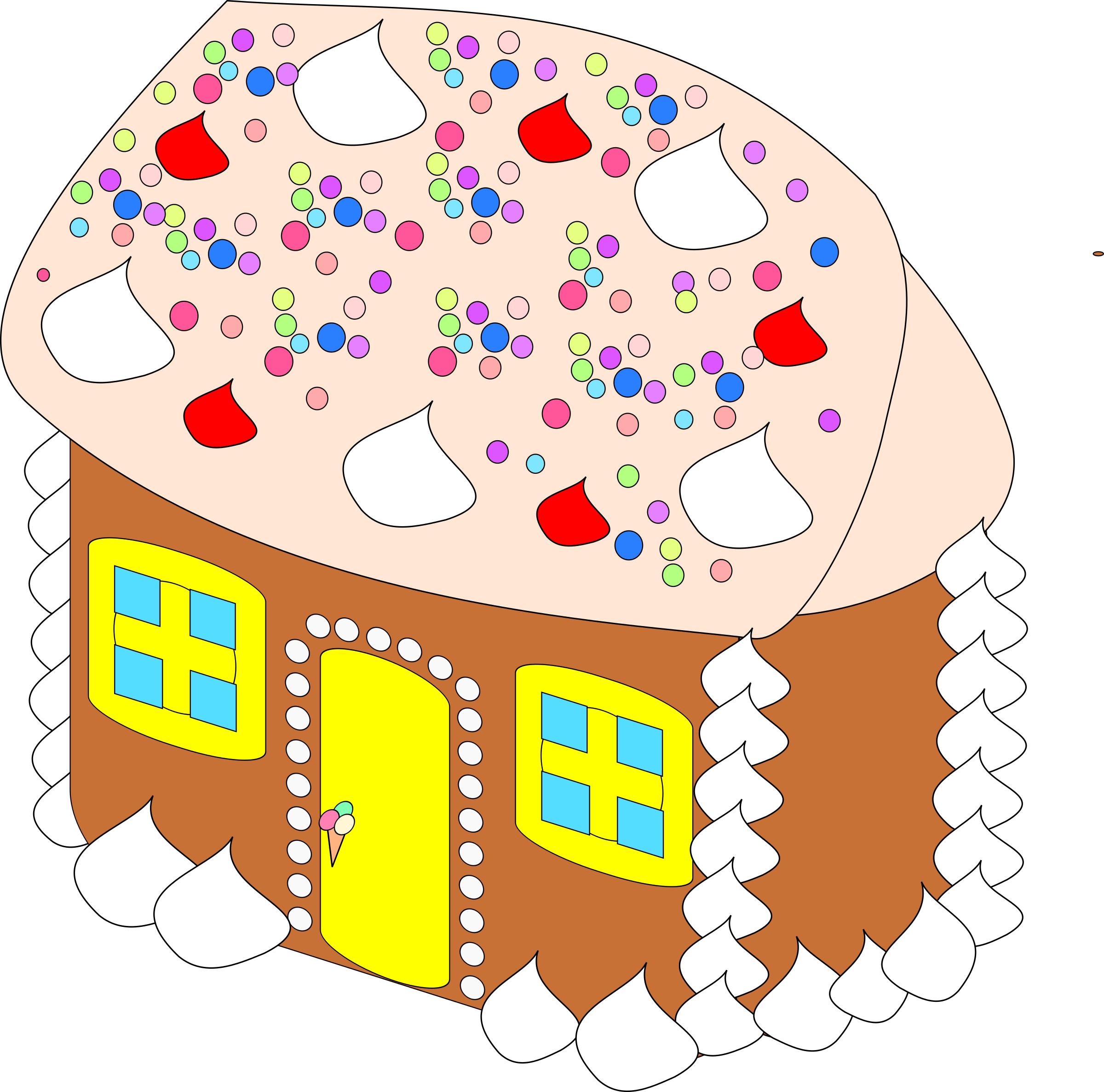 Fantasy house clipart. Sweet big image png