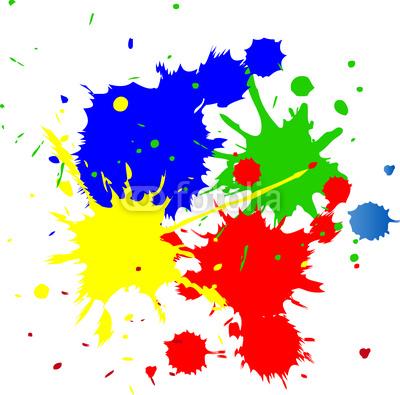 Farbkleckse mit pinsel clipart free stock Farbkleckse mit pinsel clipart - ClipartFest free stock