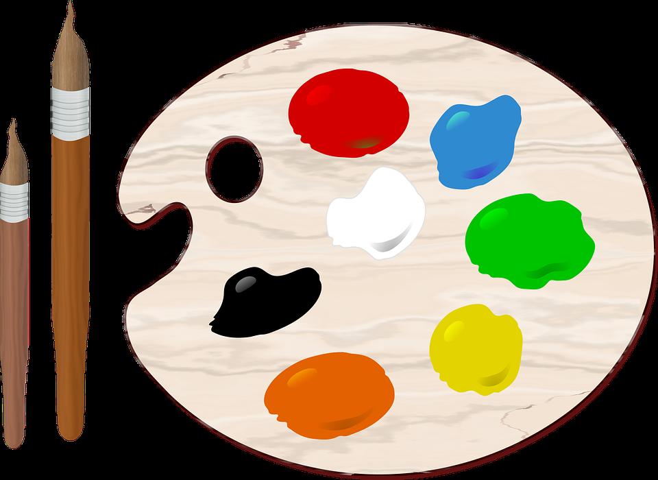 Farbpalette mit pinsel clipart graphic free stock Farbpalette - Kostenlose Bilder auf Pixabay graphic free stock