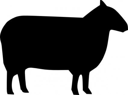 Farm animal silhouettes clipart vector library Free Silhouette Animals, Download Free Clip Art, Free Clip Art on ... vector library
