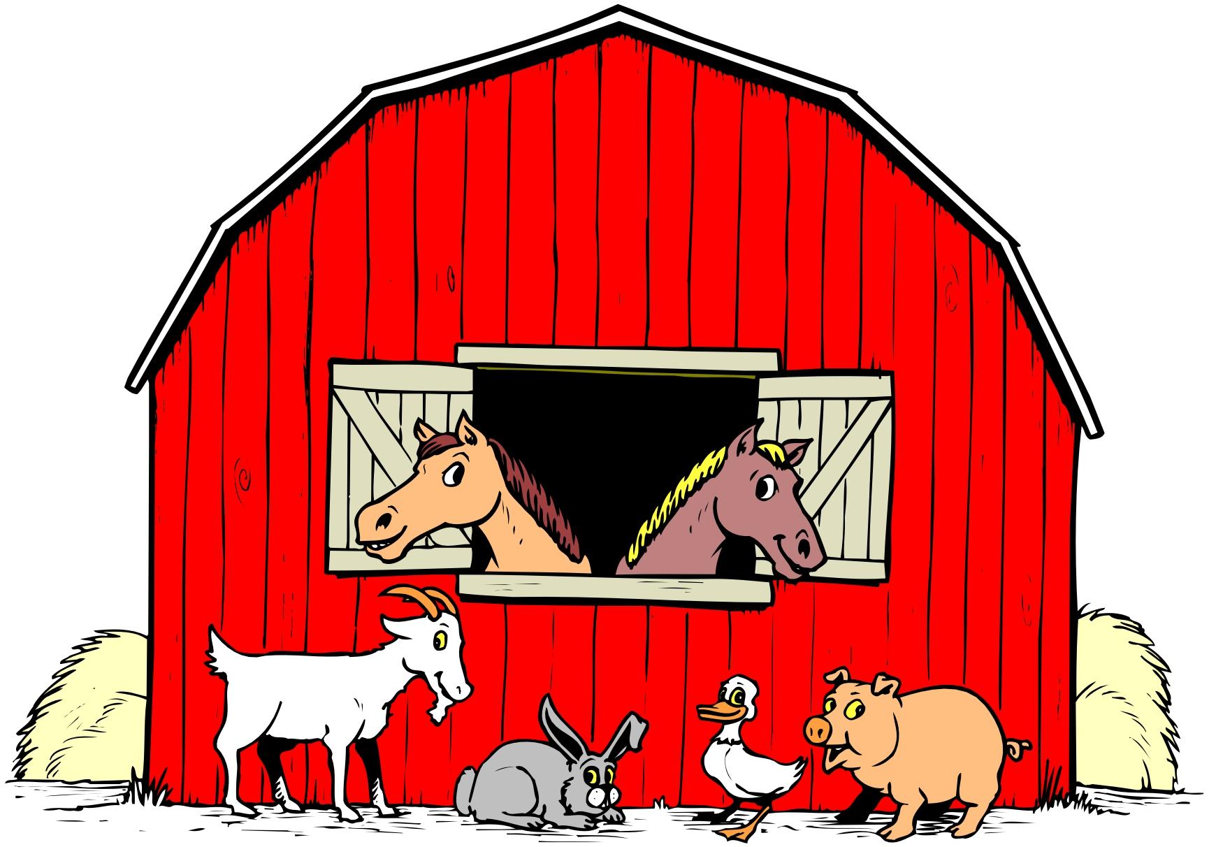 Farm cartoon clipart image royalty free download Farm animals cartoon clipart - Cliparting.com image royalty free download