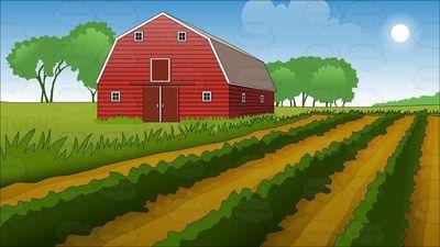 Farm cartoon clipart banner farm Cartoon Clip Art | Farm ideas | Farm cartoon, Farm art, Red barns banner
