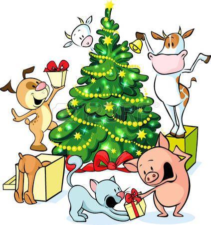 Farm christmas clipart image stock Christmas tree farm clipart | Clip Art & Backgrounds | Christmas ... image stock