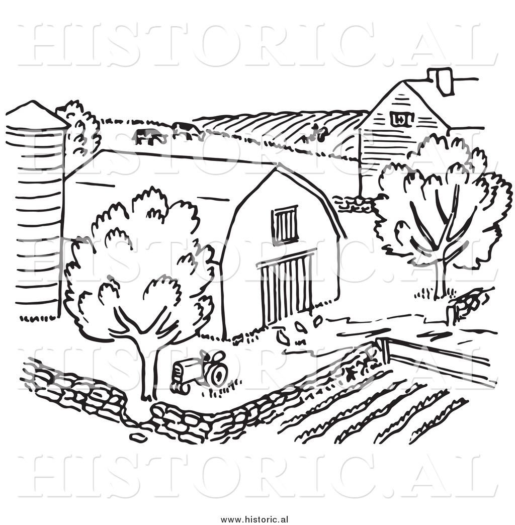 Farm clipart black and white free royalty free stock 68+ Farm Clipart Black And White   ClipartLook royalty free stock