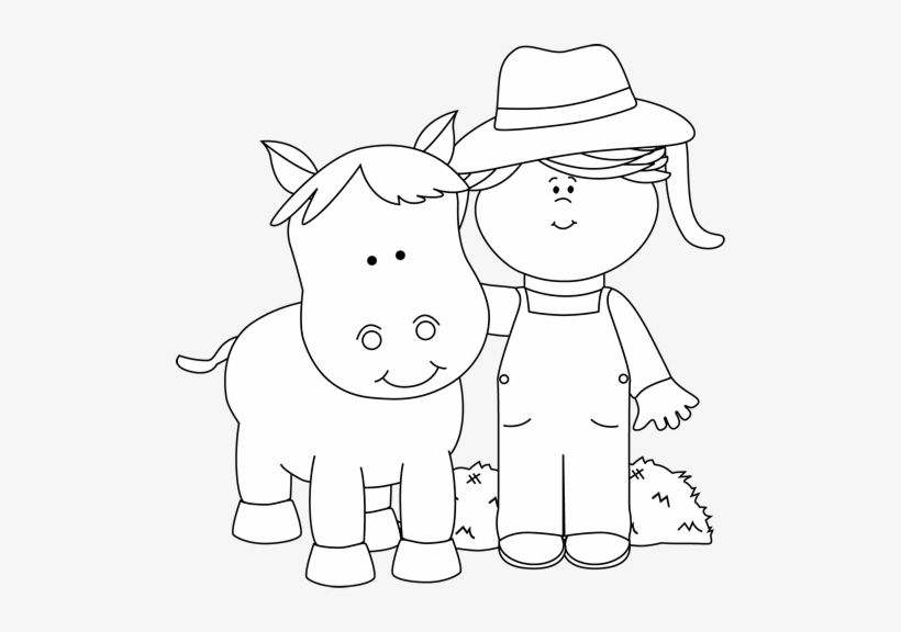 Farm clipart black and white free graphic transparent download My Cute Graphics Clipart Black And White - Black And White Free Clip ... graphic transparent download