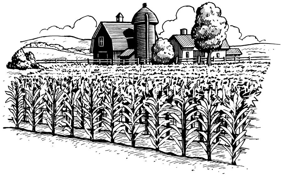 Ranch clipart black and white clip free stock Pin by Linn Ruiz-Goubert on membership kit   Farm art, Clip art, Art ... clip free stock