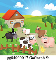 Farm clipart images free library Farm Clip Art - Royalty Free - GoGraph free library