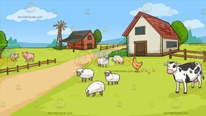 Farm clipart images clipart freeuse A Farm Background clipart freeuse