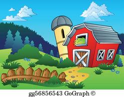 Farm clipart images transparent download Farm Clip Art - Royalty Free - GoGraph transparent download