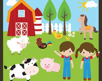 Farmyard clipart clip art freeuse download Farm Clip Art Free | Clipart Panda - Free Clipart Images clip art freeuse download