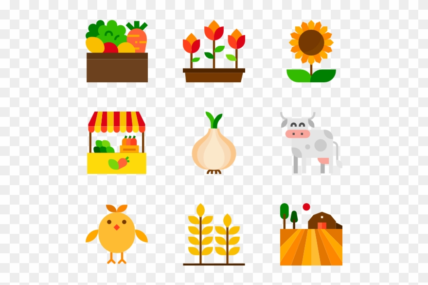 Farm icon clipart png transparent stock Farm Icon Packs Svg Psd Png - Education Clipart (#2138034) - PinClipart png transparent stock