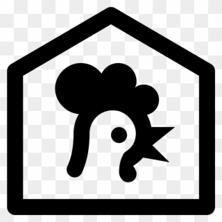 Farm icon clipart vector royalty free download Farm House Icon - Henhouse Icon Clipart - Full Size Clipart (#944906 ... vector royalty free download