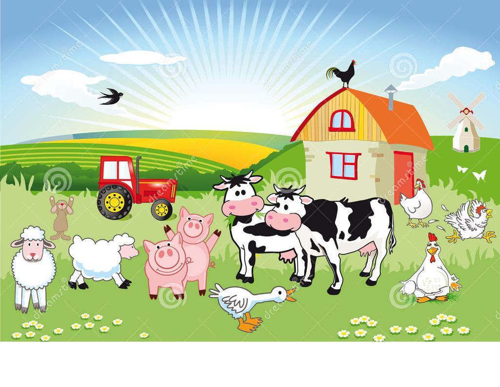 Farm scene clipart graphic royalty free download Farm Scene Clipart Agricultural - Clipart1001 - Free Cliparts graphic royalty free download